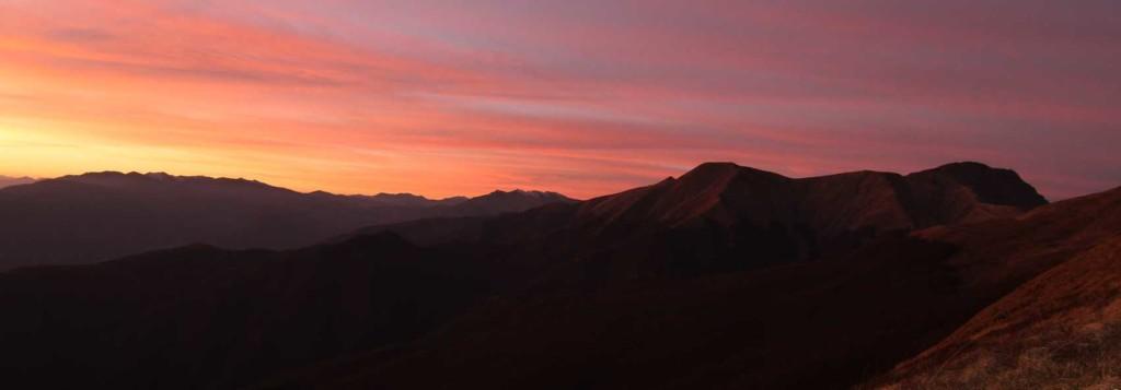 tramonto pedata