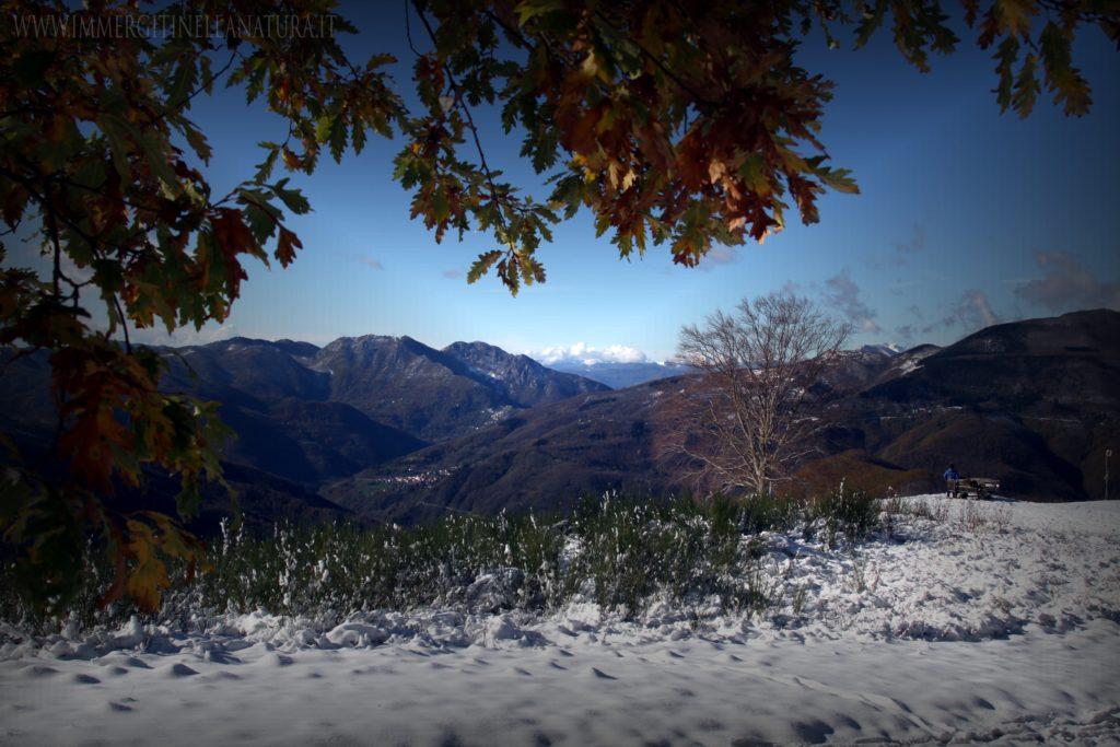 Pian dei termini , Nevicata precoce