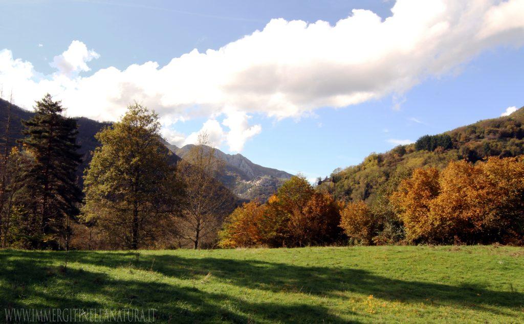 località Lambore - vista Lucchio,e Penna di Lucchio